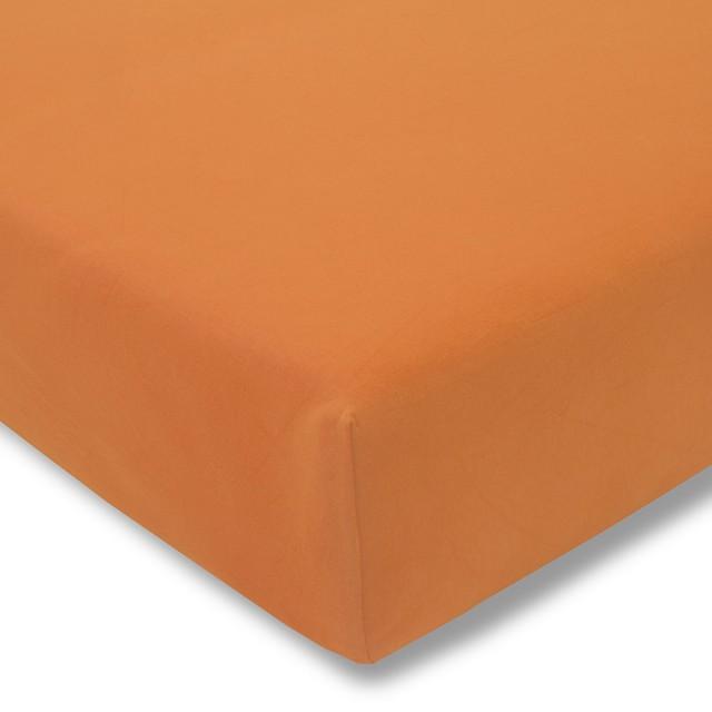 Zwirnjersey orange Exquisit